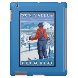 Skier Admiring - Sun Valley, Idaho