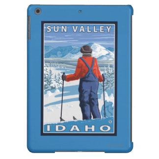 Skier Admiring - Sun Valley, Idaho iPad Air Covers