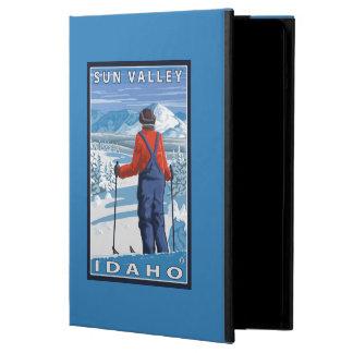 Skier Admiring - Sun Valley, Idaho iPad Air Case