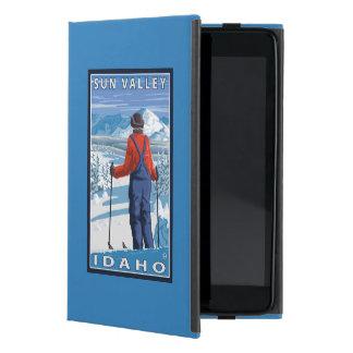 Skier Admiring - Sun Valley, Idaho Cases For iPad Mini