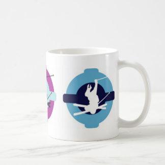 skier classic white coffee mug