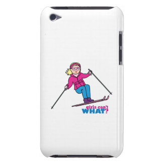 Skier Girl iPod Touch Cover