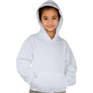 Skier Girl Hooded Pullover
