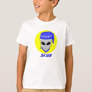 Skier head alien T-Shirt
