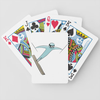 Skier Icon Icon Bicycle Playing Cards