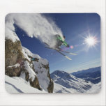 Skier in Midair Mouse Pad