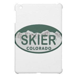 skier license oval iPad mini covers