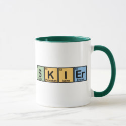 Combo Mug with Skier design