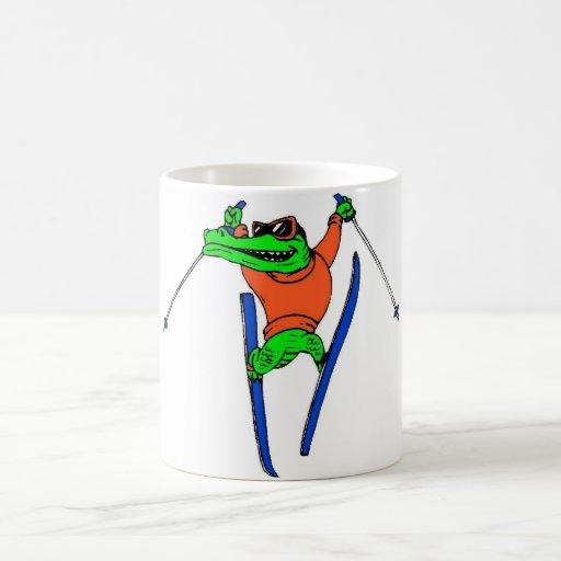 Skier Mug