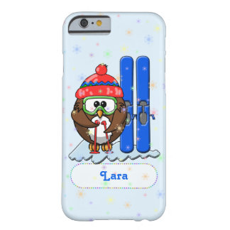 skier owl barely there iPhone 6 case