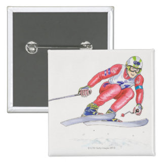 Skier Performing Jump 2 Button