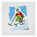 Skier Posters