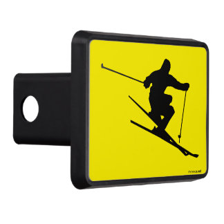 Skier Tow Hitch Cover