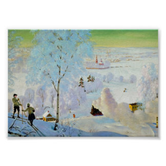 Skiers 1919 posters