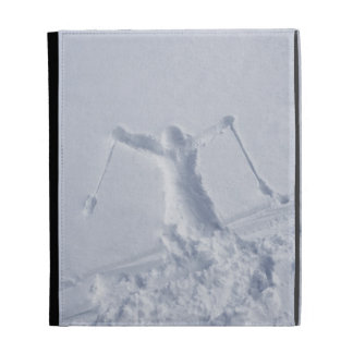 Skiers 2 iPad folio case