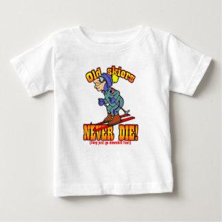 Skiers Baby T-Shirt