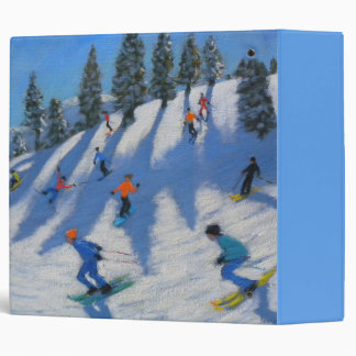 Skiers Lofer 2010 3 Ring Binder