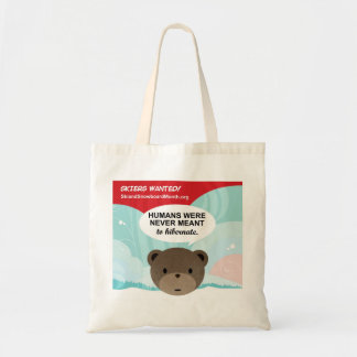 Skiers Wanted Budget Tote Bag