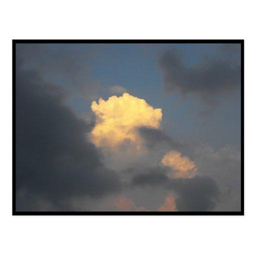Skies ~ 14 postcard