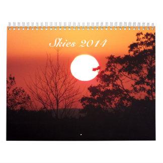 Skies 2014 Calendar