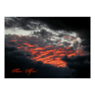 Skies Afire: Sunset - Poster #2