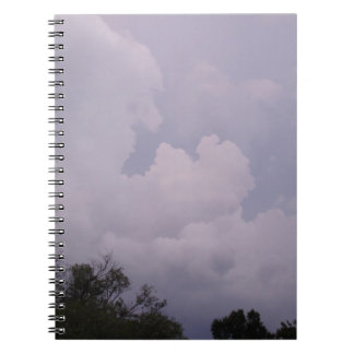 Skies Are Cloudy Notebook