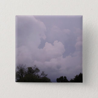 Skies Are Cloudy Pinback Button
