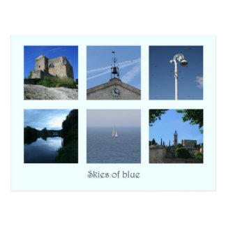 Skies of Blue Postcard