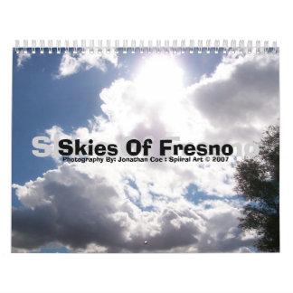 Skies Of Fresno calander Calendar