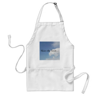 Skies the limit... adult apron