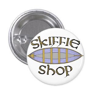 Skiffie Shop logo badge Pinback Button