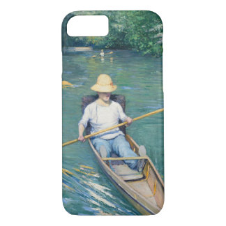 Skiffs by Gustave Caillebotte iPhone 7 Case