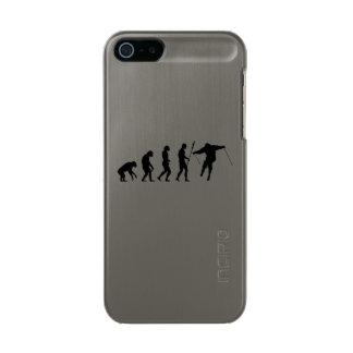 skiier evolution metallic iPhone SE/5/5s case