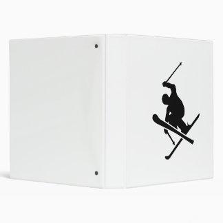 Skiing 3 Ring Binder