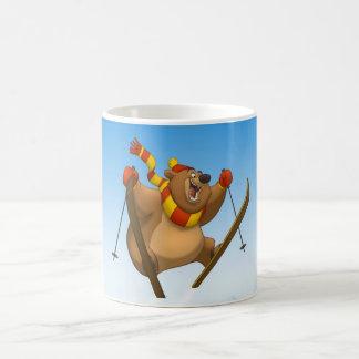 Skiing Bear Mug