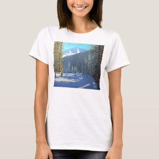 Skiing Beauregard La Clusaz 2012 T-Shirt