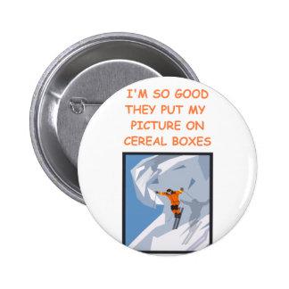 skiing button