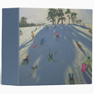 Skiing Calke Abbey Derby Binder