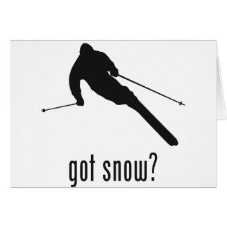 Skiing Card