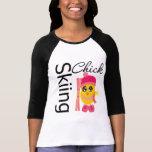 Skiing Chick Shirt