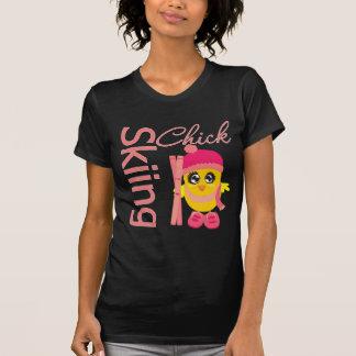 Skiing Chick T-shirt