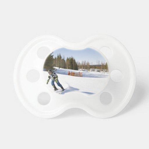 skiing chupete