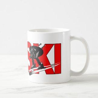 Skiing Coffee Mug