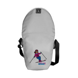 Skiing - Dark Courier Bags