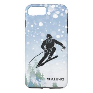 Skiing Design iPhone 7 Case