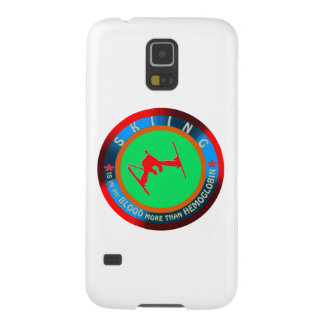 Skiing designs galaxy s5 cover