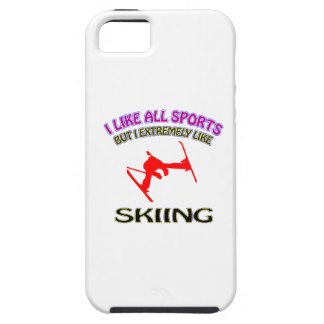 Skiing designs iPhone 5 cover