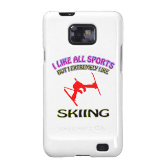 Skiing designs samsung galaxy s2 cover