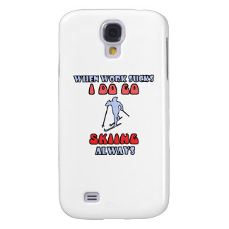 Skiing DESIGNS Galaxy S4 Covers
