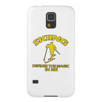 SKIING DESIGNS GALAXY S5 COVERS